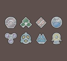 The Sinnoh Gym Badges by zblues