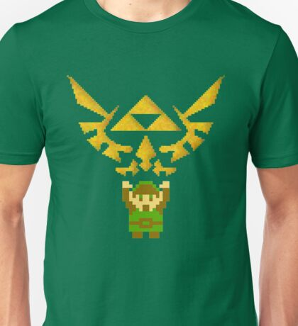 Classic Link and Triforce Unisex T-Shirt