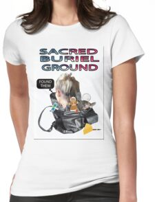 SACRED BURIEL GROUND Womens Fitted T-Shirt