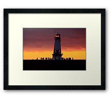Summer Night's Glow Framed Print