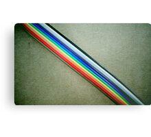 Ribbon Cable Metal Print
