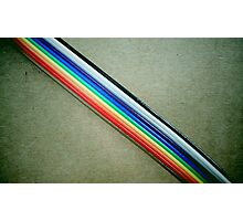 Ribbon Cable Photographic Print