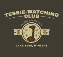 Tessie Watching Club Member Tee by LivelyLexie