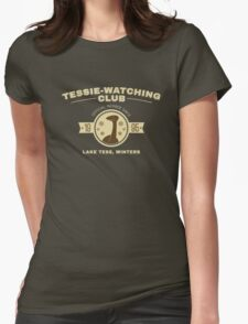 Tessie Watching Club Member Tee Womens Fitted T-Shirt