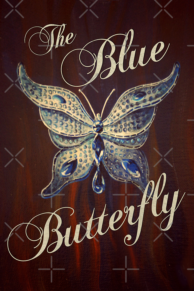 The Blue Butterfly by Sarah  Mac