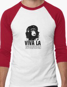 VIVA LA EVOLUTION Men's Baseball ¾ T-Shirt