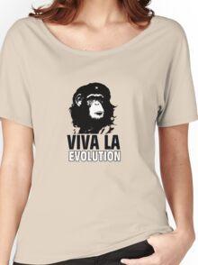 VIVA LA EVOLUTION Women's Relaxed Fit T-Shirt