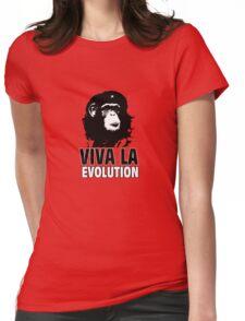 VIVA LA EVOLUTION Womens Fitted T-Shirt