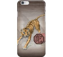 Year of the Tiger by Stephanie Smith (for dark shirts) iPhone Case/Skin