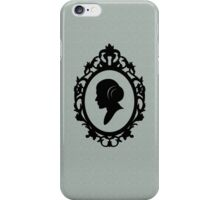 Portrait Of A Princess iPhone Case/Skin