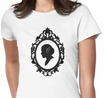 Portrait Of A Princess Womens Fitted T-Shirt