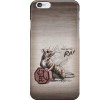 Chinese Zodiac - The Rat iPhone Case/Skin