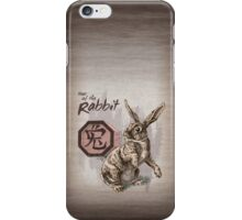 Chinese Zodiac - The Rabbit  iPhone Case/Skin