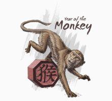 Chinese Zodiac - The Monkey Baby Tee