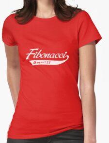 Fibonacci. As easy as 1, 1, 2, 3 Womens Fitted T-Shirt