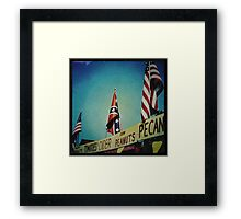 Racism 1970s Style Framed Print