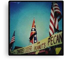 Racism 1970s Style Canvas Print