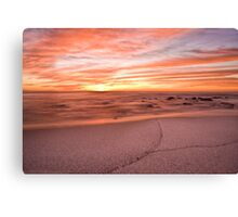 The colour of morning Canvas Print