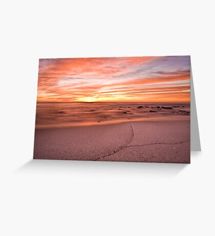 The colour of morning Greeting Card