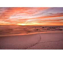 The colour of morning Photographic Print