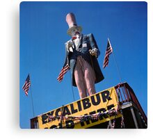 Excalibur Sold Here Canvas Print