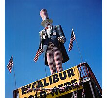 Excalibur Sold Here Photographic Print