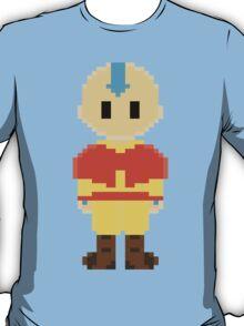 Avatar Last Airbender 8Bit Aang 3nigma T-Shirt