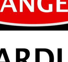 DANGER STARDUST FAKE ELEMENT FUNNY SAFETY SIGN SIGNAGE Sticker