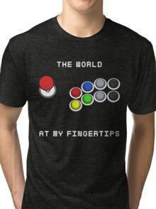 The World At My Fingertips Tri-blend T-Shirt