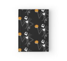 Jack Skellington and his pumpkin Hardcover Journal