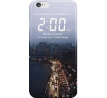 2:00 AM iPhone Case/Skin