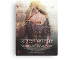 STAGE FRIGHT Poster Canvas Print