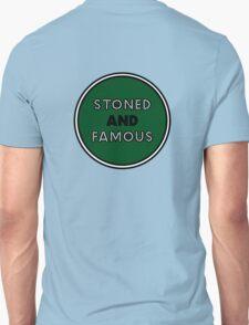 Stoned & Famous Back Logo Unisex T-Shirt