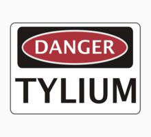DANGER TYLIUM FAKE ELEMENT FUNNY SAFETY SIGN SIGNAGE Kids Clothes