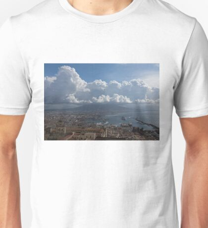 Cruising Into the Port of Naples, Italy Unisex T-Shirt