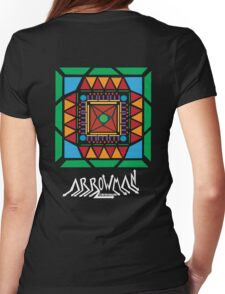 (Hoodie) Tribal Hipster Womens Fitted T-Shirt