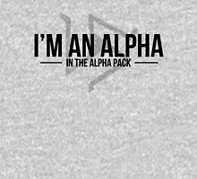 alpha in the alpha pack Unisex T-Shirt
