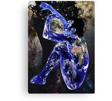 """""""The World Will Be As One"""" John Lennon Canvas Print"""
