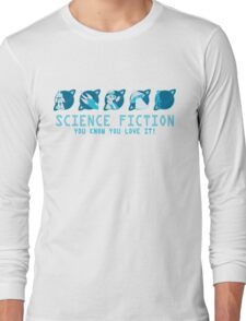 Sci Fi Icons Long Sleeve T-Shirt