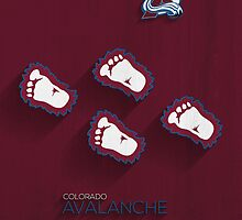 Colorado Avalanche Alternate Design by SomebodyApparel