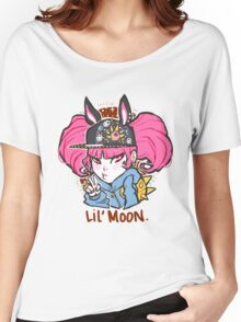 Lil' Moon. Women's Relaxed Fit T-Shirt
