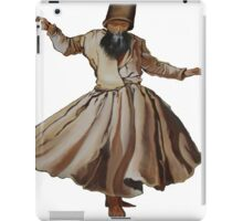 Whirling Dervish Conveys God's Spiritual Gift  iPad Case/Skin