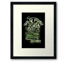WILD IRISH ROSE 2.0 Framed Print