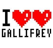 I Love Gallifrey Photographic Print