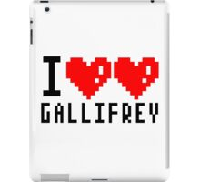 I Love Gallifrey iPad Case/Skin