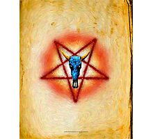 NATIVE PENTAGRAM - 018 Photographic Print