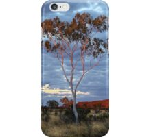 Sunset Batton Hill,North Simpson Desert iPhone Case/Skin