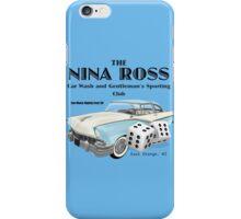 Nina Ross Car Wash and Gentlemen's Club iPhone Case/Skin