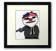 Payday the Heist Framed Print