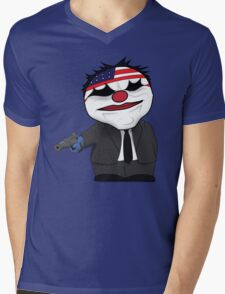 Payday the Heist Mens V-Neck T-Shirt